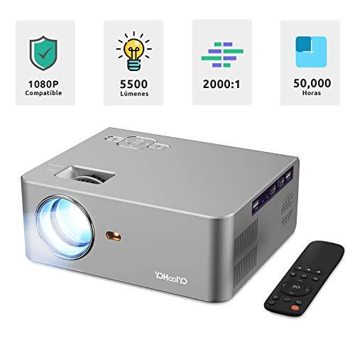 Mini proyector portatil YOHOOLYO