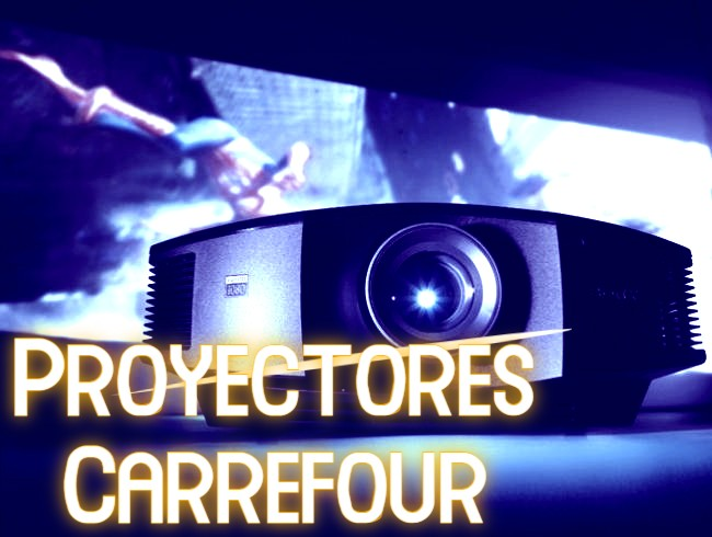proyectores carrefour
